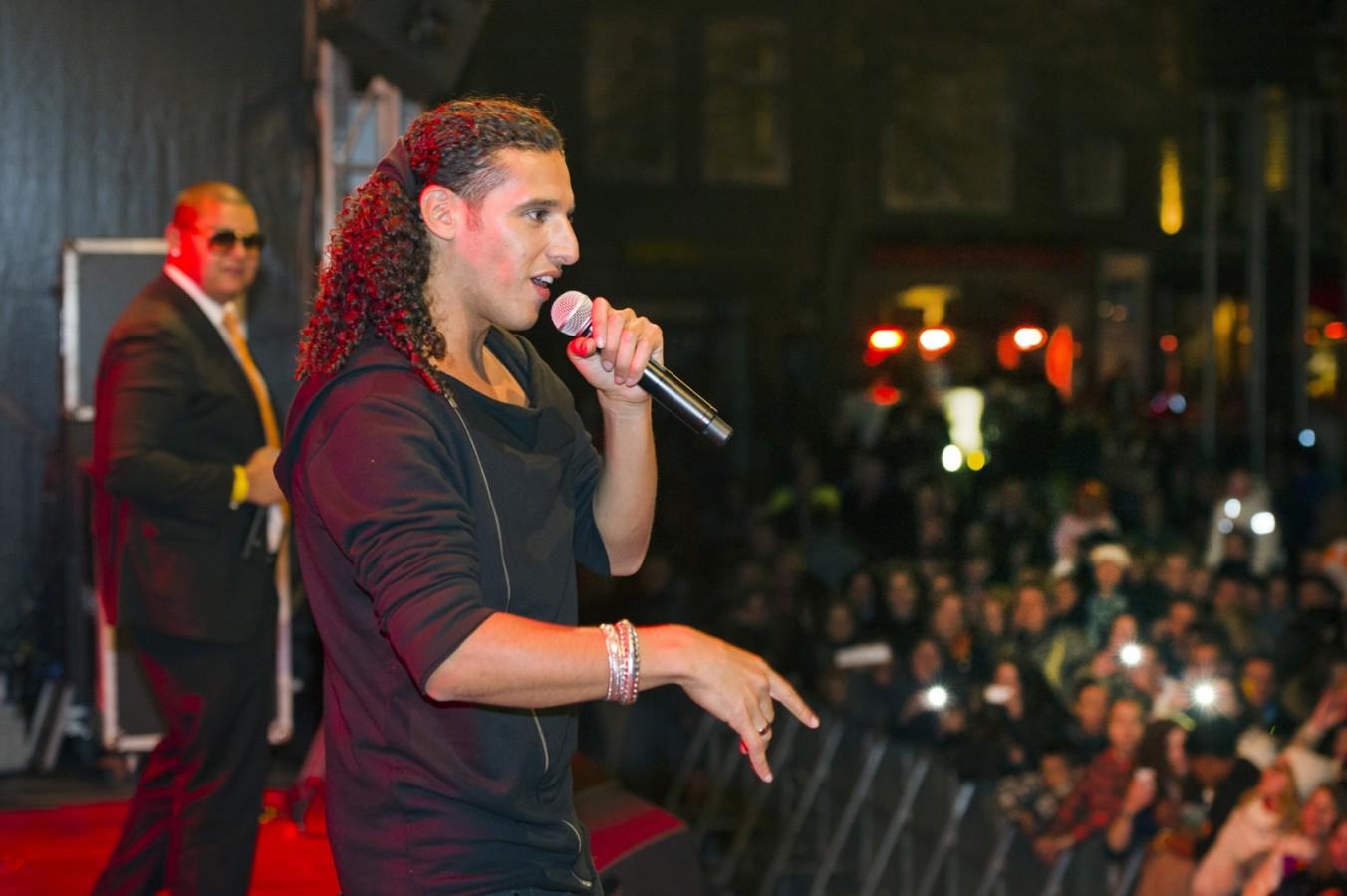 Optreden Ali B tijdens koninginnedag (Middelburg)