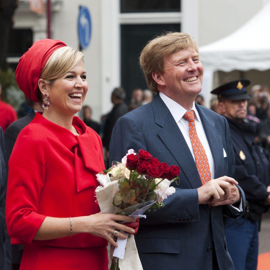Bezoek koningspaar (Middelburg)