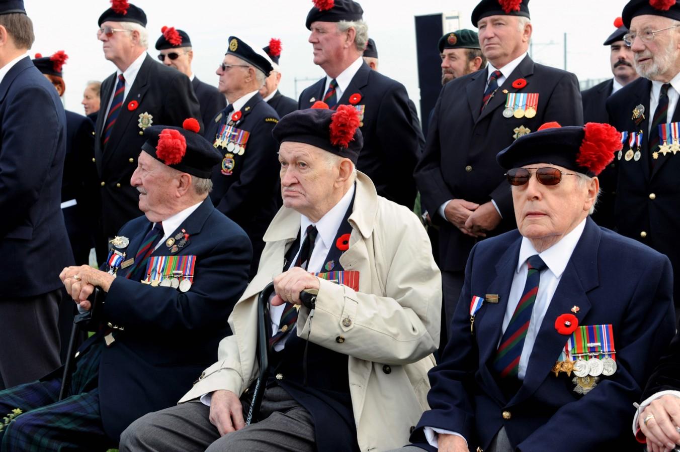 Herdenking 65 jaar bevrijding Walcheren (Sloedam)