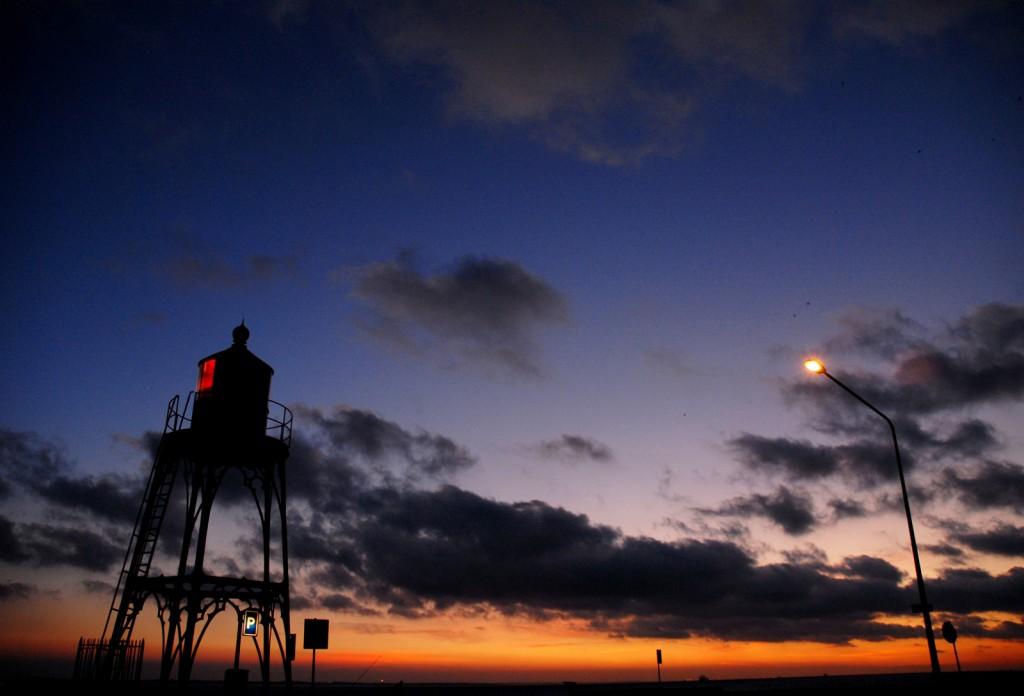 zonsondergang_vuurtoren